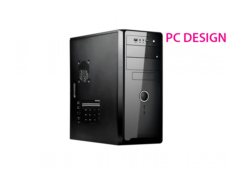 PC DESIGN INTEL G3260, 3.3GHZ, 4GB, HDD 500GB