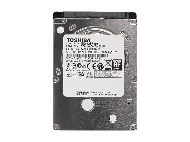 """500Gb HDD  Toshiba MQ01ABF050 , 2.5"""", 5400rpm, 8Mb, 7mm, SATAIII"""