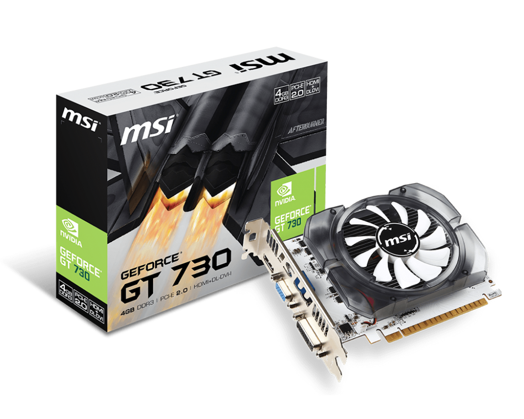 Video Card MSI GeForce GT 730 4GB