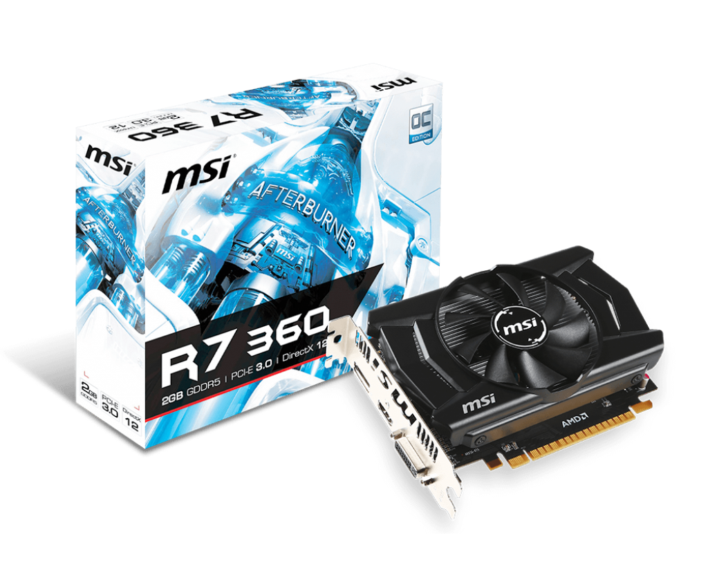 Video Card MSI Radeon R7 360