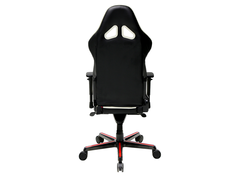 DXRacer Racing OH/RH110/NWR, Gamer weight 113kg / height 185cm, PU Cover - Black/White/Red,Gas Lift 4 Class,Tilt Mech-Angle 135* 1