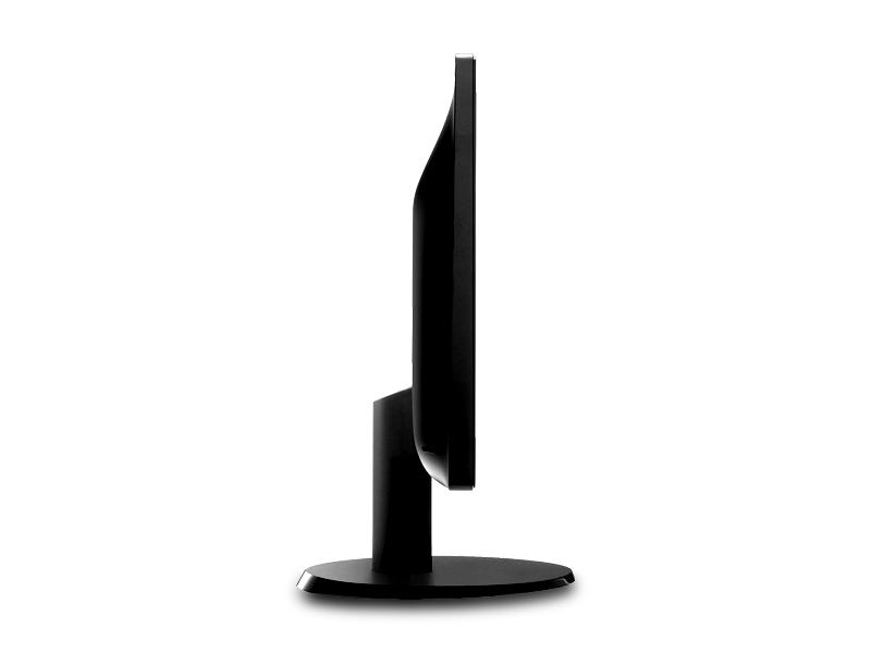 "Monitor 23.6"" Philips 243V5LHSB, W-LED, 1920*1080@60, 5ms, DVI, HDMI, D-Sub, Black 1"