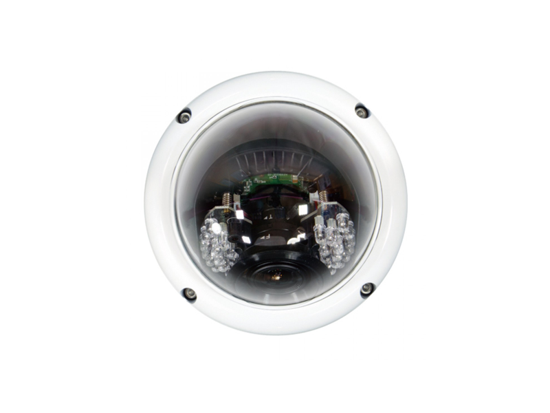 "LILIN LR6122EX3.6 2.0Mpixel, Day/Night PoE Dome VandalResistant Surveillance Camera, 1/2.5"" CMOS, 1920x1080, MicroSD/SDHC, H.264/MJPEG video compressi 1"