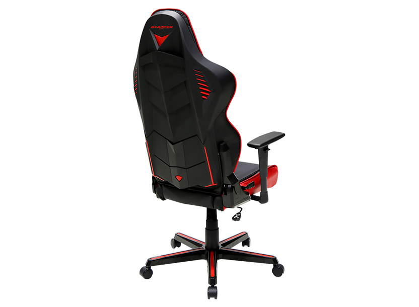DXRacer Racing OH/RM1/NR, Gamer weight 113kg / height 185cm,PU Cover-Black/Black/Red,Gas Lift 4Class,Tilt Mech-Angle 135* 1