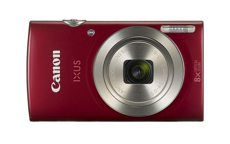 """Canon IXUS 175IS Red, 20.0Mpix, CCD 1/2.3, 32x(8x optical, 4x Digital)zoom, 2.7"""" LCD, HD-Video 720p(25fps), USB"""
