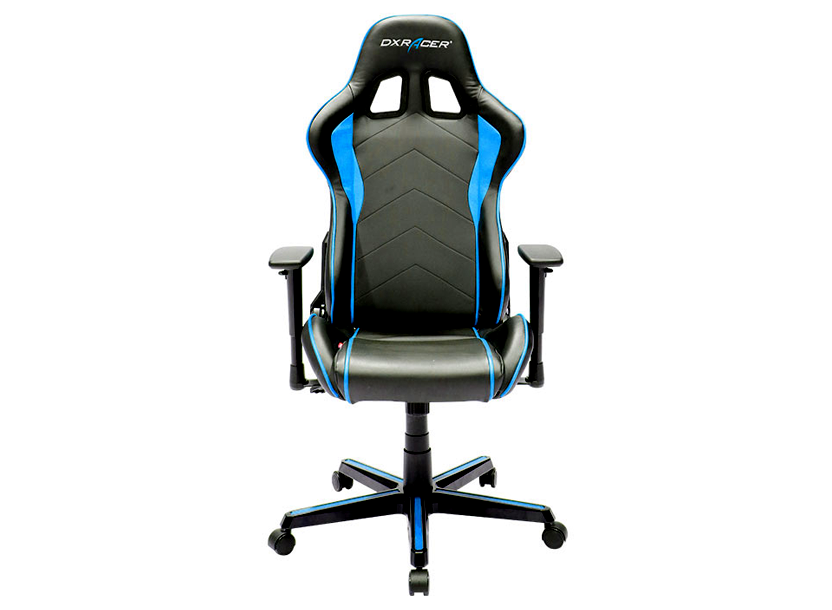 DXRacer  Formula OH/FH08/NB, Gamer weight 91kg / height 175cm,PU Cover-Black/Black/Blue, Gas Lift 4 Class, Tilt Mech-Angle 135*