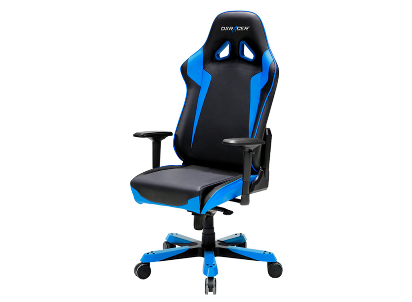 DXRacer Sentinel OH/SJ00/NB, Gamer weight 159kg / height 195cm,PU Cover - Black/Black/Blue, Gas Lift 4Class,Tilt Mech-Angle 120* 1