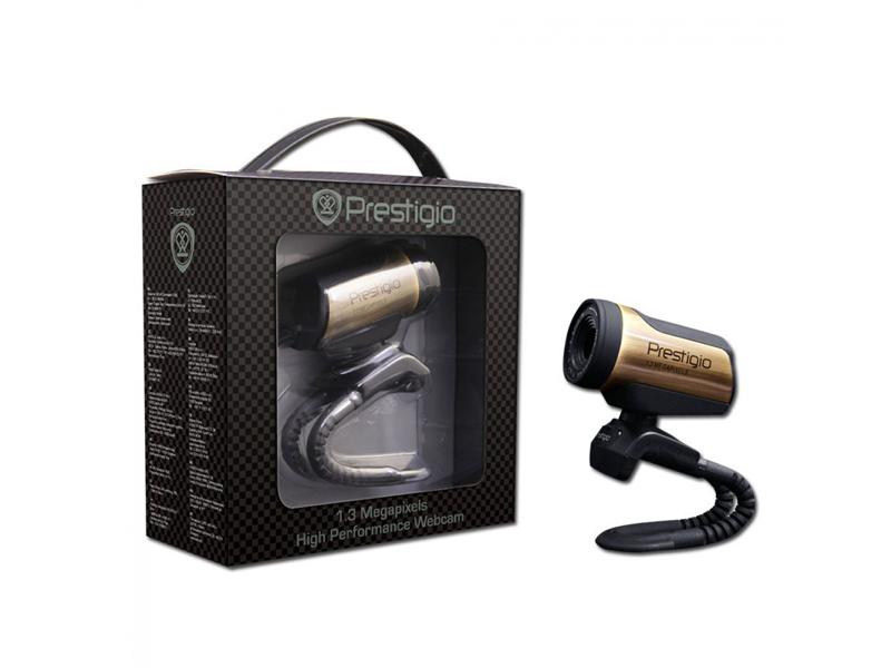 Веб камера Prestigio PWC213 Black/Bronze
