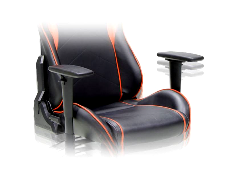 DXRacer Formula OH/FH08/NO, Gamer weight 91kg / height 175cm,PU Cover-Black/Black/Orange, Gas Lift 4 Class, Tilt Mech-Angle 135* 1