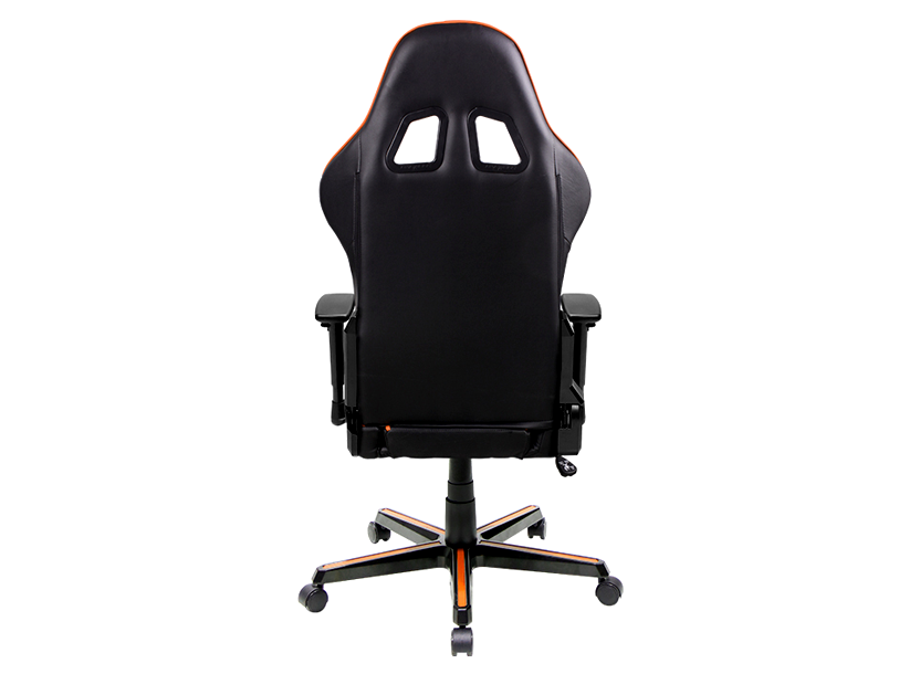 DXRacer Formula OH/FH08/NO, Gamer weight 91kg / height 175cm,PU Cover-Black/Black/Orange, Gas Lift 4 Class, Tilt Mech-Angle 135* 3