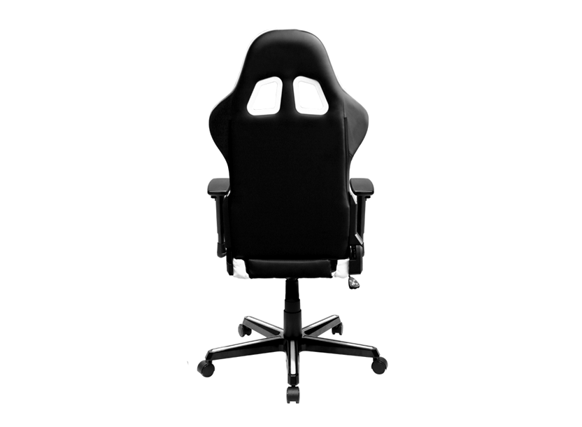DXRacer  Formula OH/FH00/NW,Gamer weight 91kg / height 175cm,PU Cover-Black/Black/White,Gas Lift 4 Class,Tilt Mech-Angle 135* 1