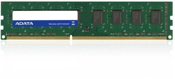 Adata 4Gb DDR3 PC12800, 1600MHz, CL11