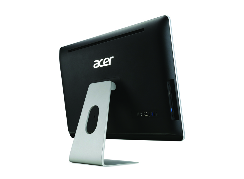 All in One ACER Aspire ZC-700 Black iPentium J3710