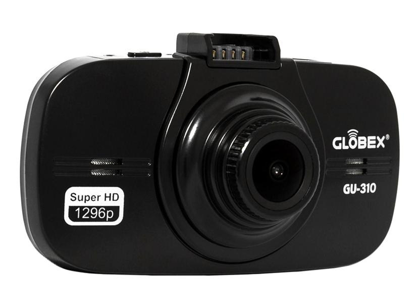 """DVR Globex GU-310, 2304 х 1296p, 170°- 98°, microSDHC 32Gb, Ambarella A7LA50, 2.7"""" LCD, USB, HDMI, 240mAh 3"""