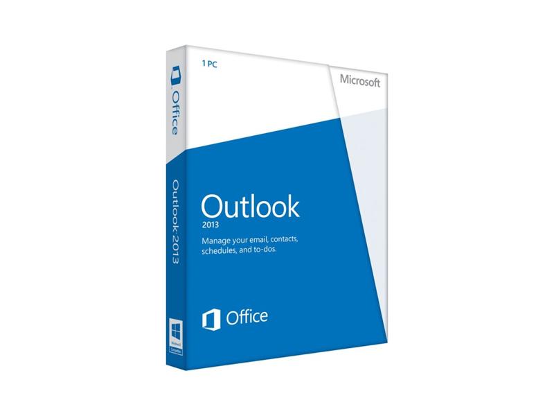 Outlook 2013 32-bit/x64 English DVD