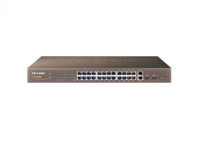 TP-Link TL-SL2428, SmartSwitch 24-port 10/100Mbps, 4-port 10/100/1000Mbps, 2xSFP expansion slots