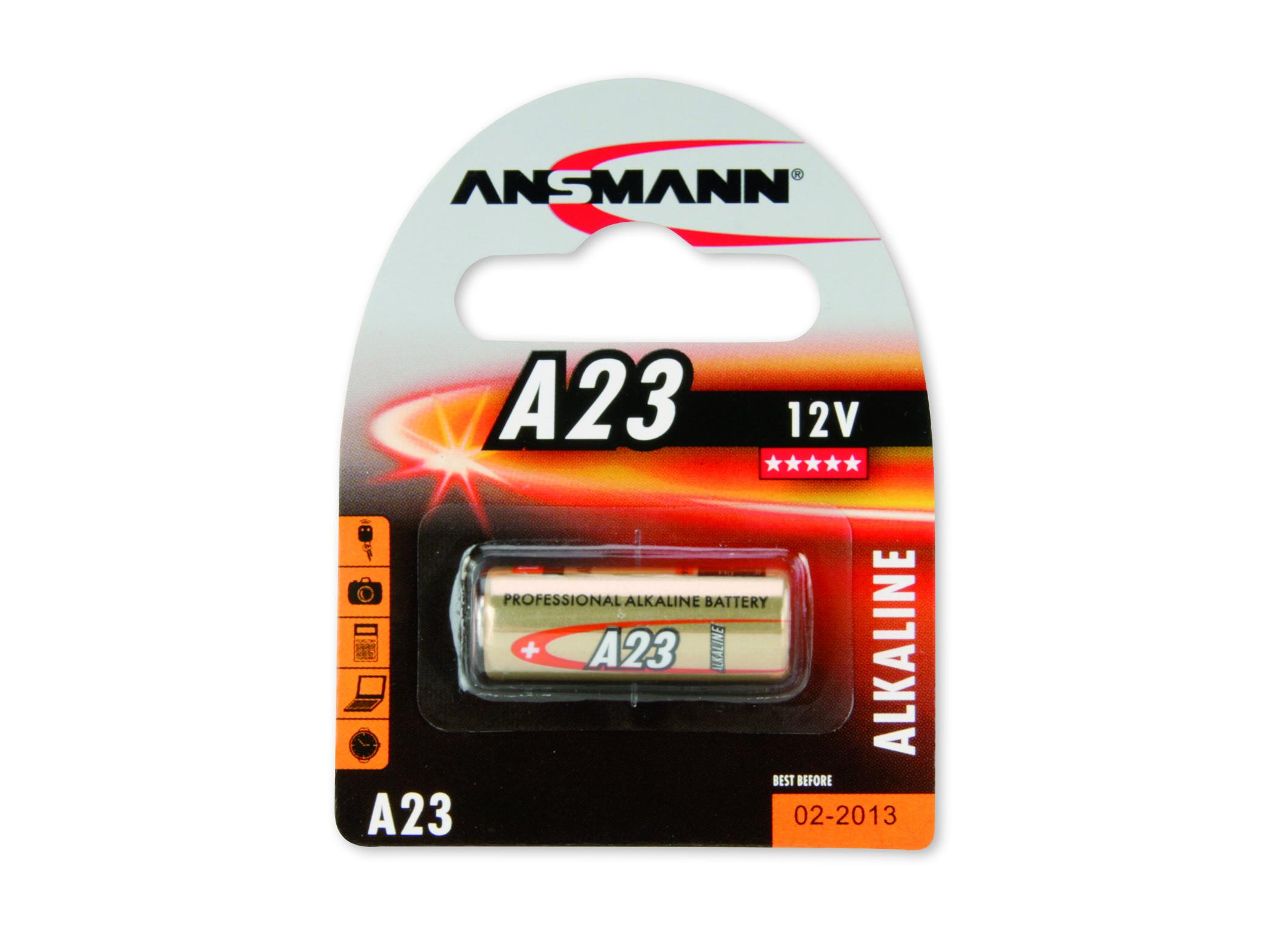 Battery Ansmann A23, 12V  Alcaline  (5015182)