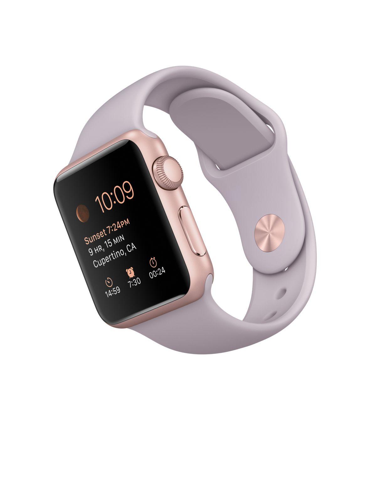 Apple Watch, Sport Band, 38mm Sport, RoseGold