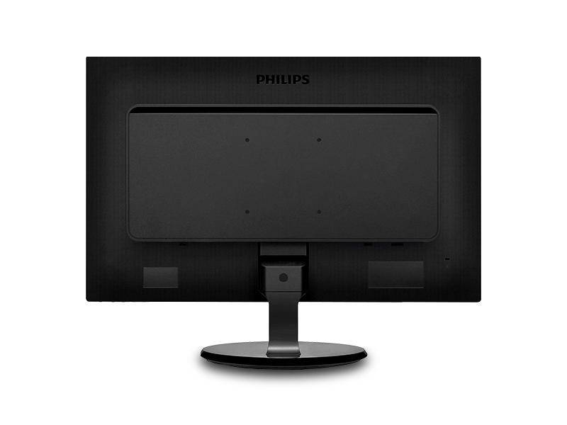"Monitor 24"" Philips 246V5LSB, W-LED, 1920*1080@60, 5ms, D-sub, DVI, Glossy Black 1"