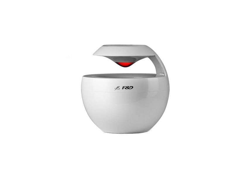 "F&D W18BT Plastic Swan (Portable, White, 2W RMS(2""), 60-20KHz, 70dB, Bluetooth, Li-Ion battery, Handsfree)"