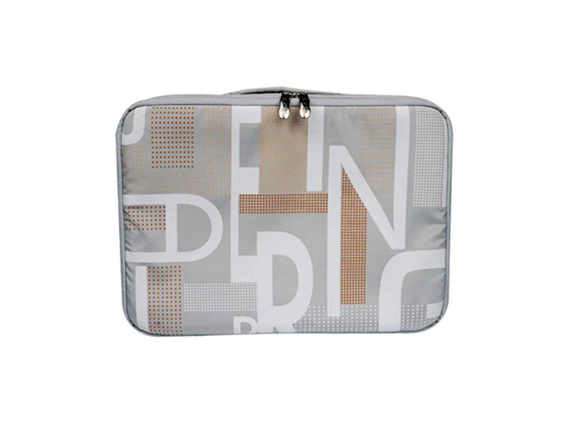 Geanta laptop G-Cube GNJD-815S2 Geometric Silver