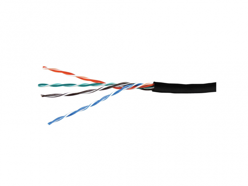 Cable FTP Cat.5e outdoor cable, 24AWG 4X2X1/0.525, LACU5007A, copper APC Electronic, 305m