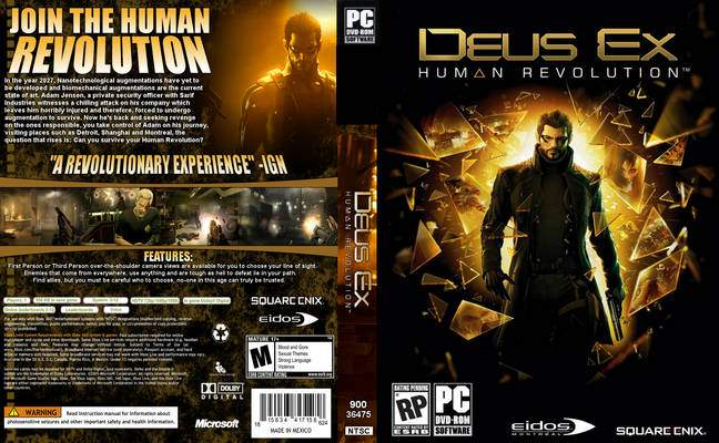 Deus Ex: Human Revolution (DVD)