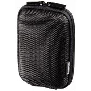 HAMA Hardcase Colour Style 40G Camera Bag,  9.5x2.5x6 cm, black   (103689)
