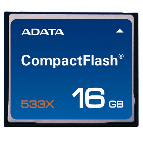 16Gb Compact Flash ADATA, 533x