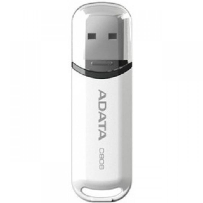 8Gb USB2.0 Flash Drive ADATA, Classic C906, glossy-black  (Read-18MB/s, Write-5MB/s), ExtremelyCompact