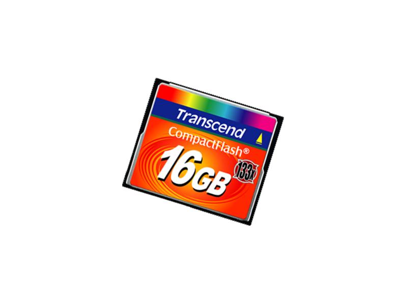 Compact Flash Card 16Gb Transcend