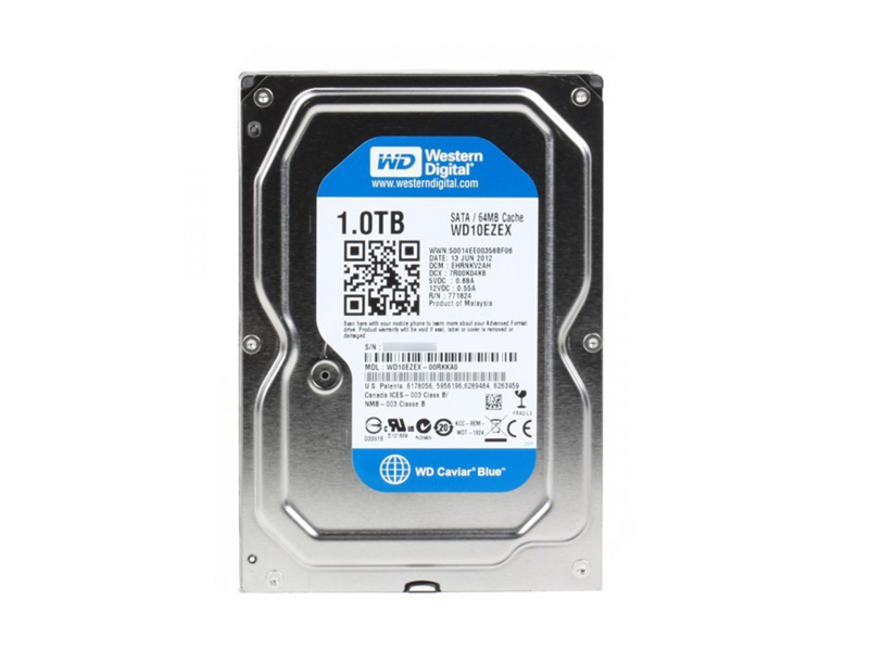 1000Gb WesternDigital WD10EZEX CaviarBlue