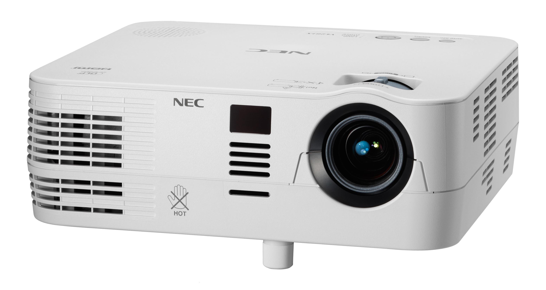 NEC VE281X, XGA 1024x768, 3000:1, 2800Lum, White, 2.3kg, 3D ready DLP