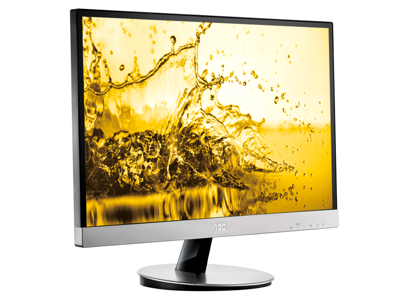 Monitor 27.0'' Widescreen 0.311 AOC I2769VM, IPS W-LED, 1920*1080@60, 1000:1(50000000:1), 5ms, 250cd, D-sub, DP, 2*HDMI, Black-Silver 2