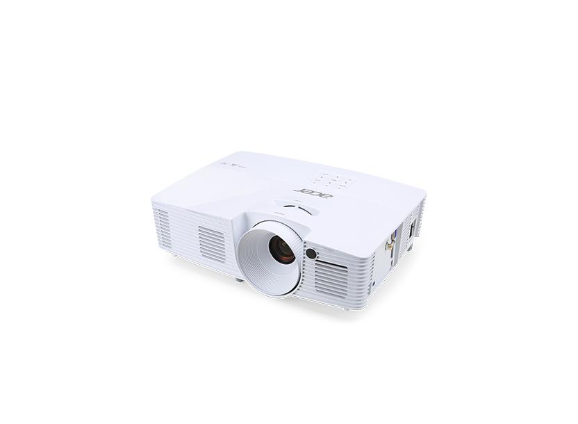 Проектор Acer X115H DLP 3D, SVGA, 800x600, 20000:1, 3300Lm, 6000hrs (Eco), HDMI, VGA, USB, Black