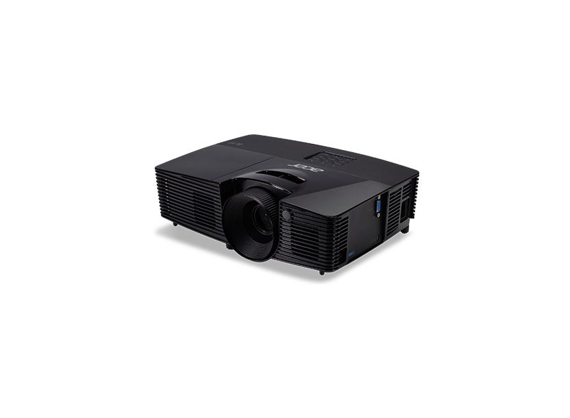 Проектор Acer X115 DLP 3D, SVGA, 800x600, 20000:1, 3300Lm, 6000hrs (Eco), VGA, USB, Black