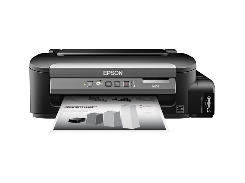 Epson M105, A4, CISS, 1440x720dpi, 34 ppm, 3 pl, 1440x720 dpi, Wi-Fi, USB 2.0