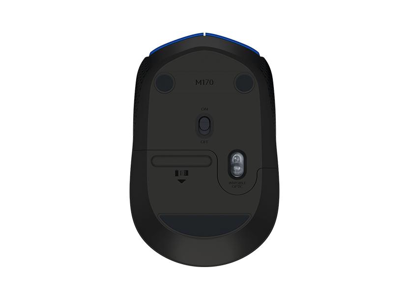 Logitech Mini M171 Wireless Notebook Optical, Blue, USB 2