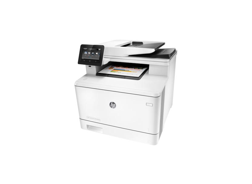 MFD HP ColorLaserJet Pro 400 M477fdw Copier/Printer/Scanner/Fax, A4, 38400x600dpi, 28ppm, 256Mb, WiFi, LCD, USB 2