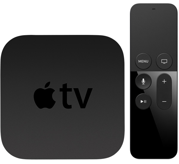 Apple TV, Black, Model: A1625 (ZKMLNC2RS/A)