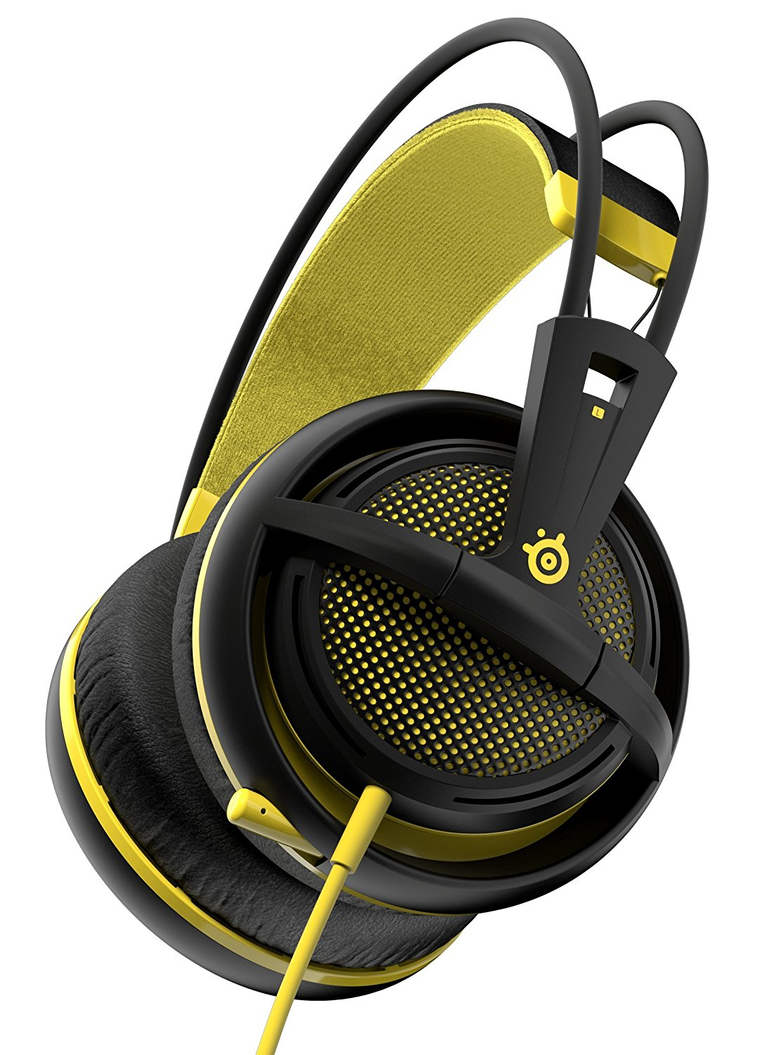 SteelSeries Siberia 200 (10-28kHz, 112dB, 50mm sperakers, 1.8m), USB, Dolby 7.1 Surround, Proton Yellow 1