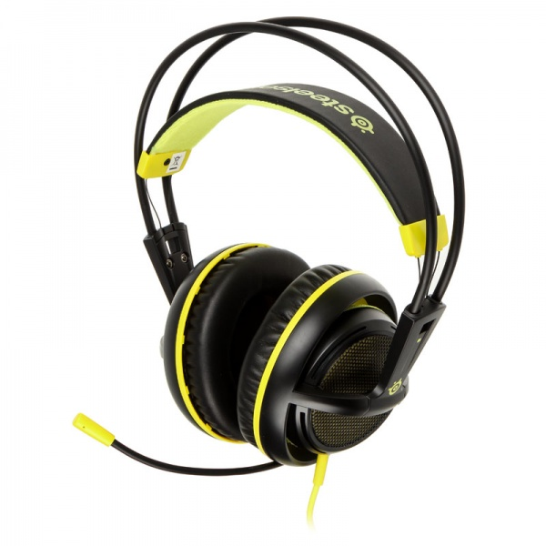 SteelSeries Siberia 200 (10-28kHz, 112dB, 50mm sperakers, 1.8m), USB, Dolby 7.1 Surround, Proton Yellow 2