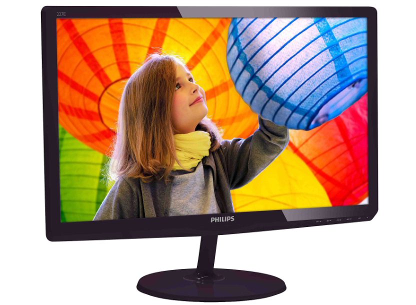 "Monitor 21.5"" WideScreen 0.248 Philips 227E6QDSD, IPS-ADS W-LED, 1920*1080@60, 1000:1(20.000000:1), 5ms, TCO05, DVI-D, HDMI/MHL, Black 1"