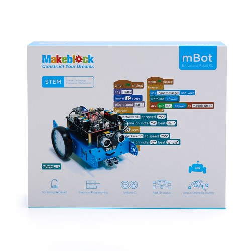 mBot v 1.1 - Blue (Bluetooth Version) 6