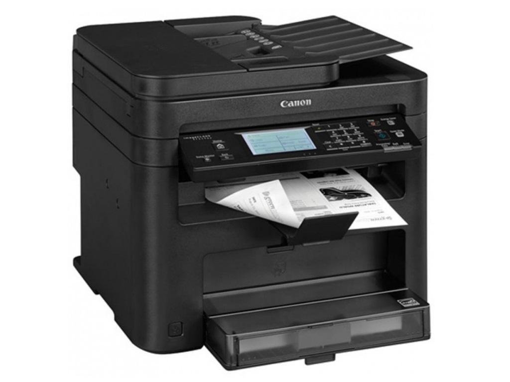 Canon i-Sensys MFD MF249DW Print/Copy/Scan/Fax, Duplex, A4, 512Mb, 27/27ppm, 600 dpi, DADF, LCD, LAN, WiFi, USB 2.0, Black 1