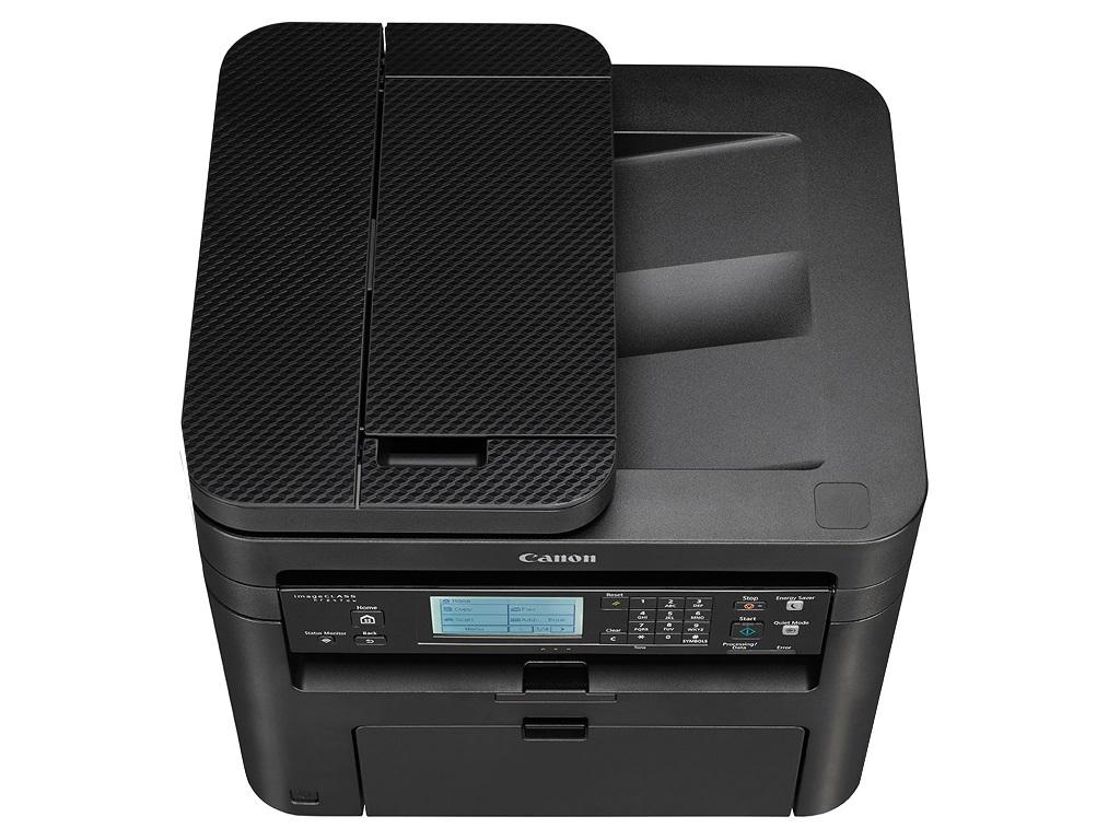 Canon i-Sensys MFD MF249DW Print/Copy/Scan/Fax, Duplex, A4, 512Mb, 27/27ppm, 600 dpi, DADF, LCD, LAN, WiFi, USB 2.0, Black 2