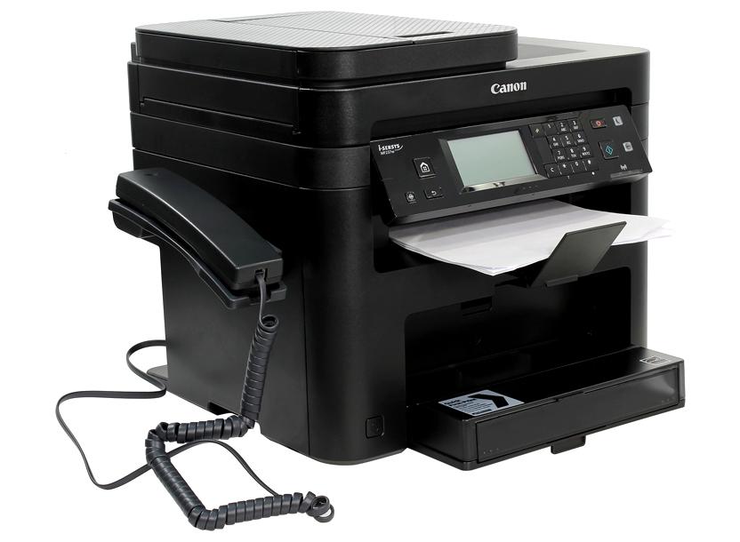 Canon i-Sensys MF237w Print/Copy/Scan/Fax, A4, 23ppm, 1200x1200dpi, LAN WiFi, USB 2.0, Black 2