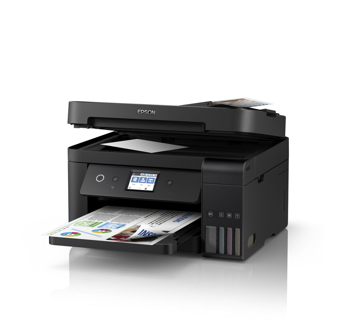 mfd epson l6190 copier printer scanner fax a4 adf duplex