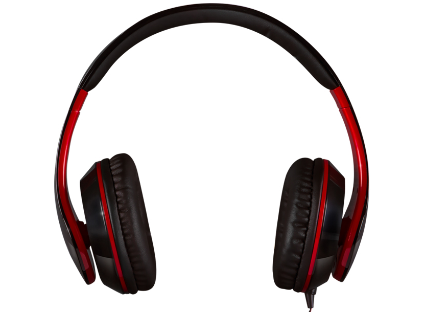 SVEN AP-940MV, Headphones with microphone, Black-Red 3