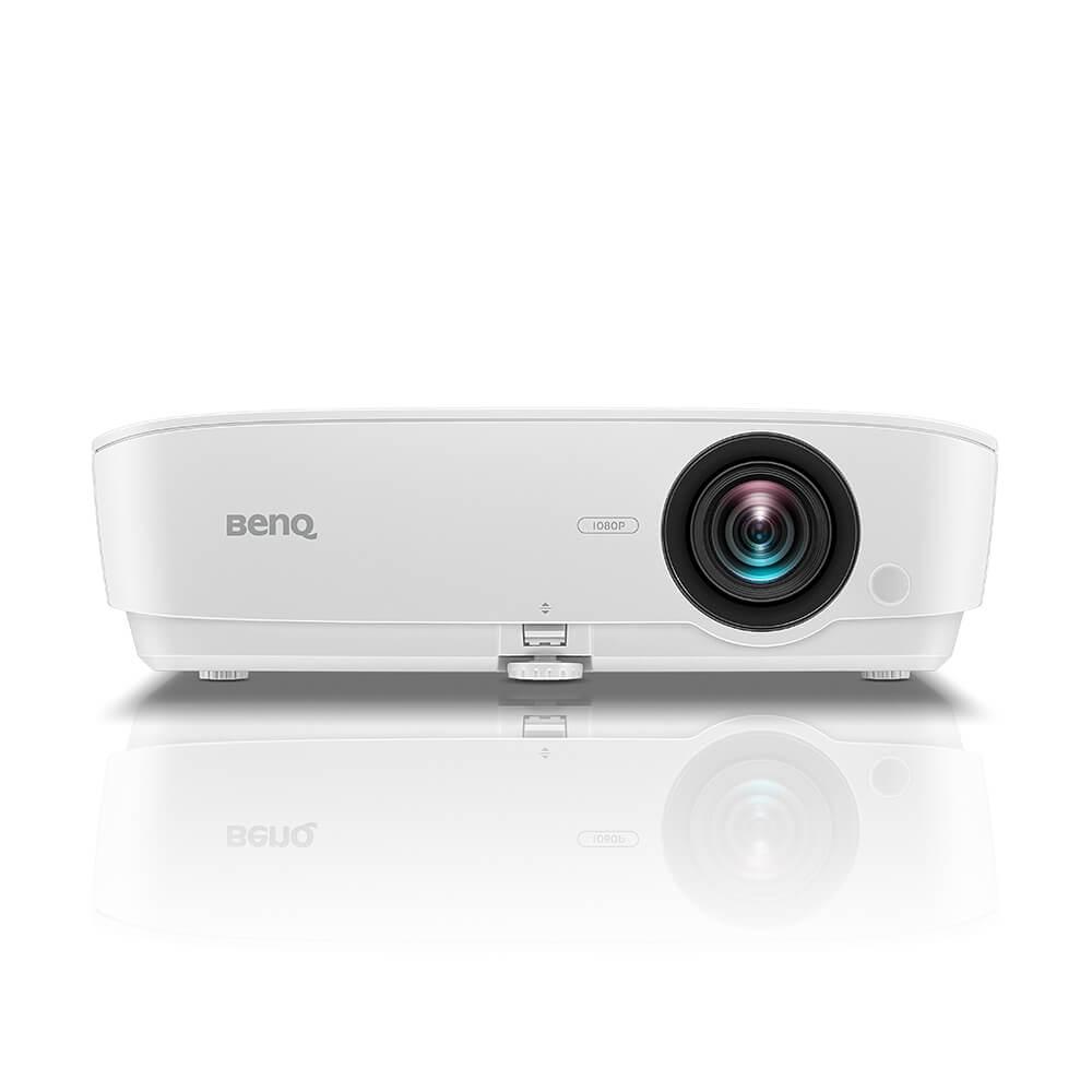 Projector BenQ MH534 FHD DLP, WUXGA, 1920x1080, 15000:1, 3300 Lm, 10000hrs, HDMI, D-sub, S-video, USB, Speaker, White